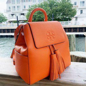 Tory Burch Thea Mini Backpack Orange